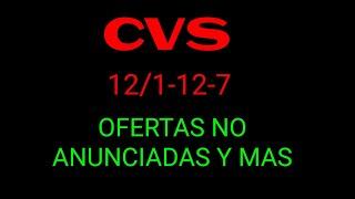 CVS 12/1-12/7 OFERTAS NO ANUNCIADAS Y MAS|Randee Saves