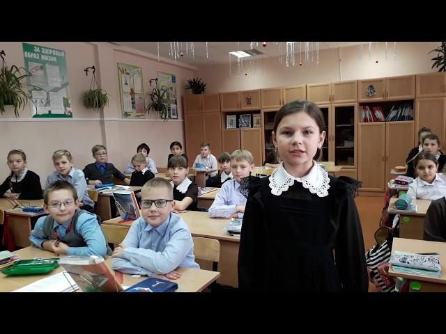 Изображение предпросмотра прочтения – АринаГолованова читает произведение «Урок доброты» Н.Анишиной