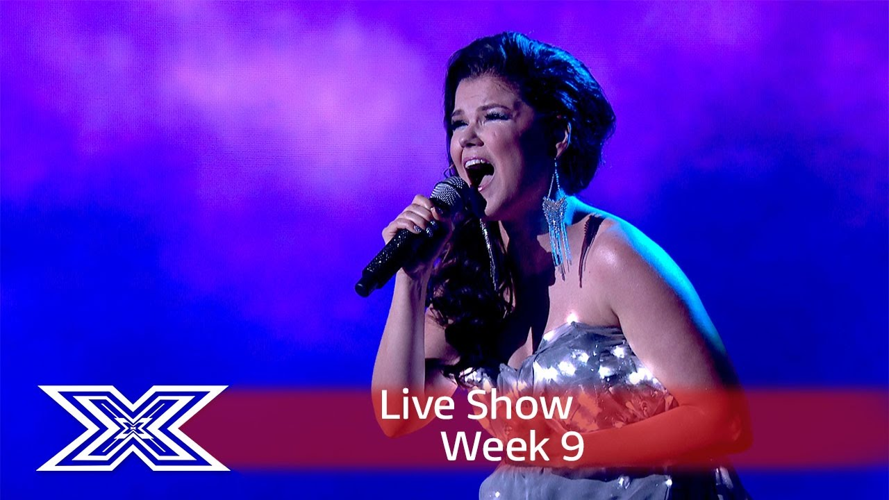 Saara Aalto Lights Up The Stage With Sia S Chandelier Semi Final X Factor Uk 2016 You