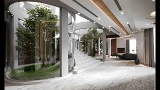 فيلا في منطقة الرحمانية في الشارقة من تصميم و تنفيذ أركود للتصميم الداخلي