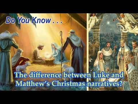 DYK - The differences in Christmas Narratives