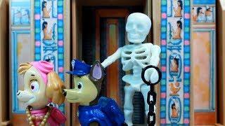 PATRULLA CANINA y la MOMIA de la PIRAMIDE!! PAW PATROL halloween PATRULLA DE CACHORROS toys PUPS