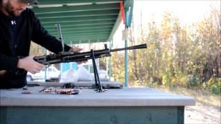 firing a dp28 machine gun w rp 46 belt fed conversion