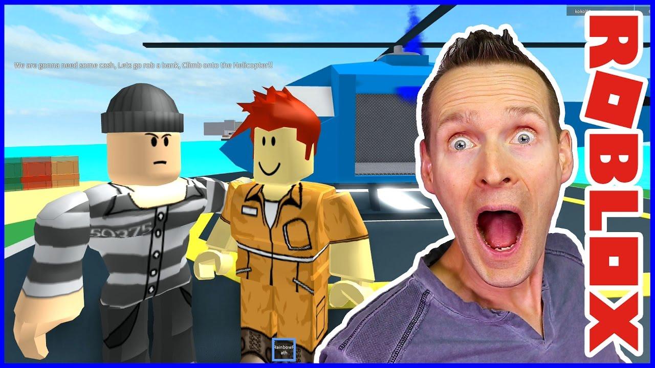 Escape Prison Obby Youtube