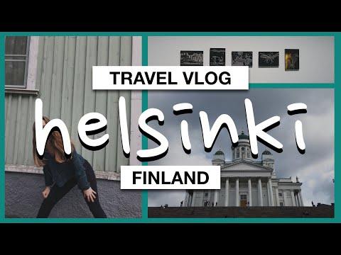 My DiscoverEU Interrail Trip #2 Helsinki, Finland | Travel Vlog