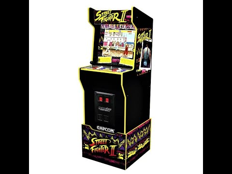 CAPCOM Legacy Arcade1Up cabinet with riser & Marquee  in stock at GameStop Now! $399.99 from Arcade Will