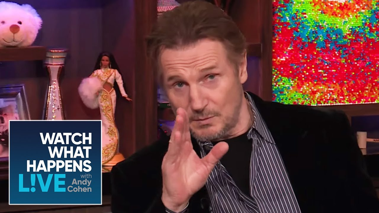 Was That Liam Neeson's Butt On Screen? | WWHL