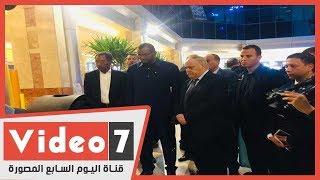 منتجات عسكرية تبهر وزير دفاع تشاد   ومباحثات مع العربية للتصنيع