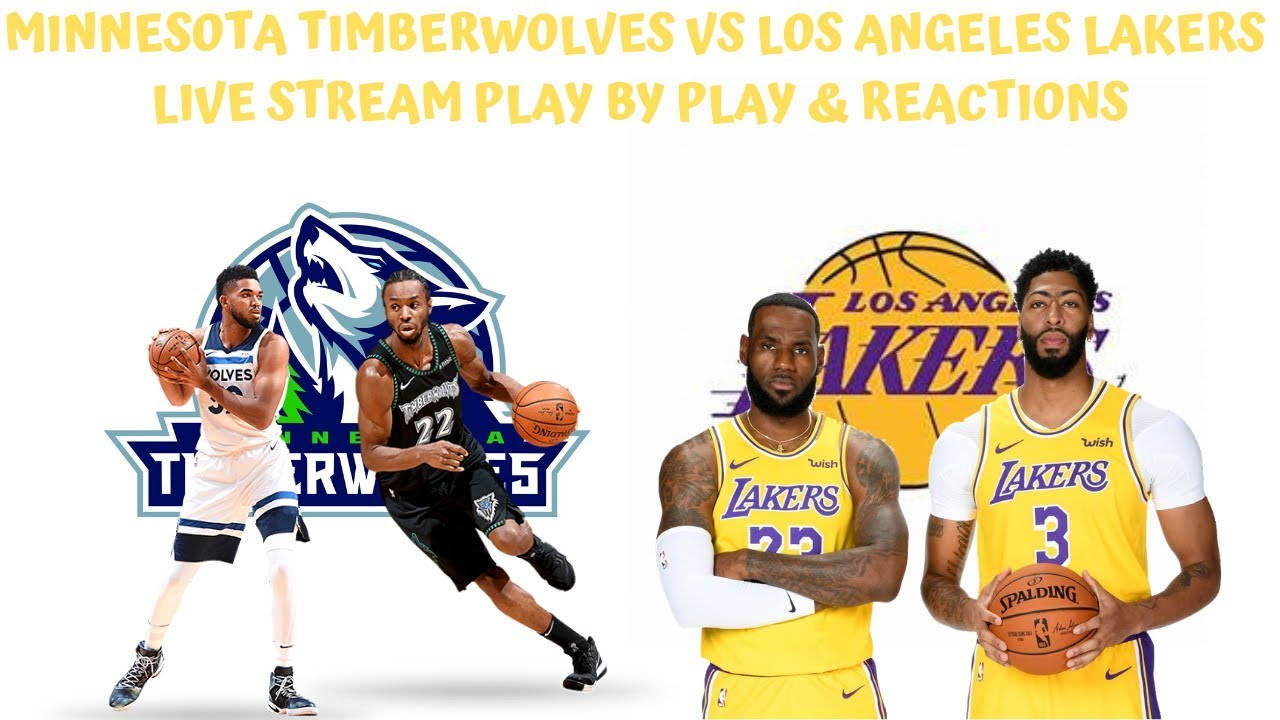 Lakers vs. Timberwolves: How to watch NBA online, TV channel, live ...