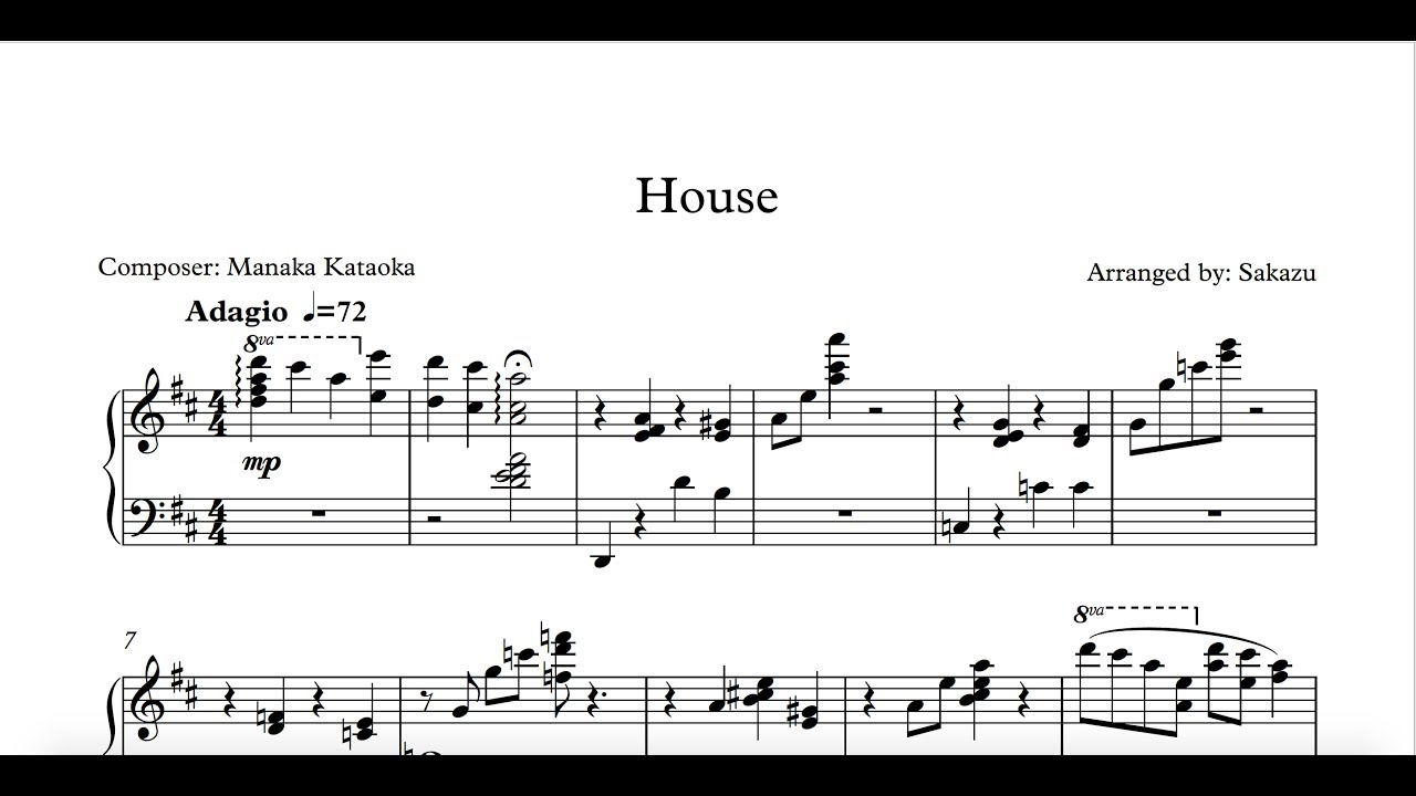 House transcription