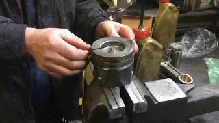 видео Ремонт дизельного двигателя 2