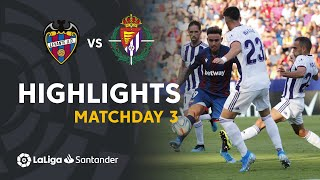 Highlights Levante UD vs Real Valladolid (2-0)