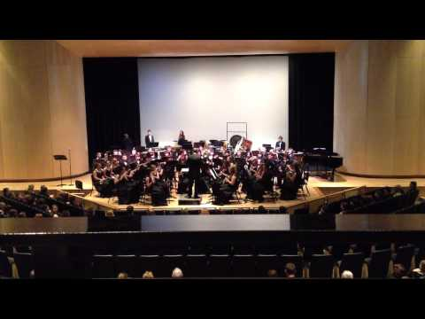 """Shenandoah"" performed by the Madison Central High School Wind Ensemble 05/15/2013"