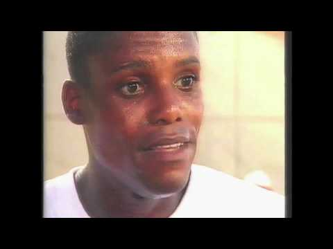 4015 Olympic Track & Field 1992 Interview Carl Lewis