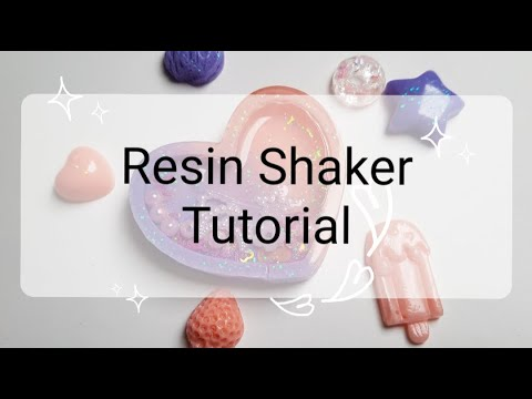 💕 RESIN Heart Shaker TUTORIAL 💕