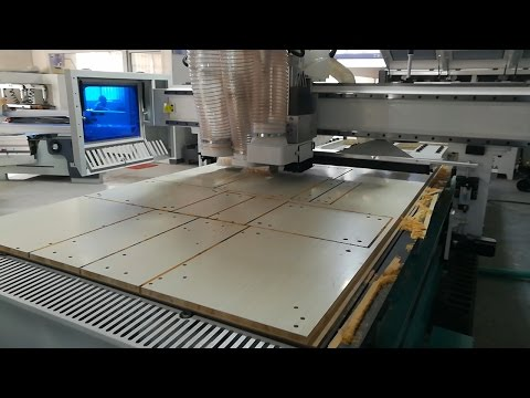 Full Automatic Intelligent CNC Router S3 For Cabinet Furniture Production