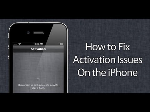 iOS 7 Activation Error fix! And Downgrade Tutuorial!