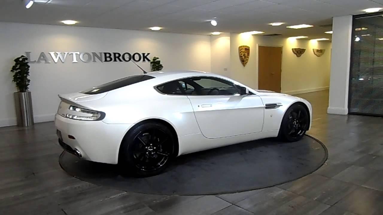 Aston Martin V8 Vantage White With Black Lawton Brook