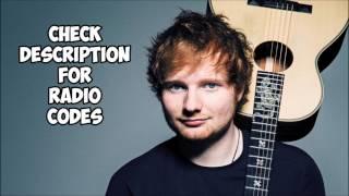Roblox-Radio Codes- Ed Sheeran - Edition