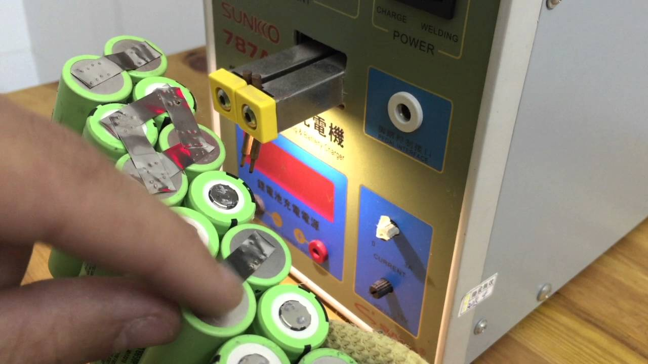 Review  U0026 Demo  Sunkko 787a  Spot Welder For 18650 Lithium Batteries