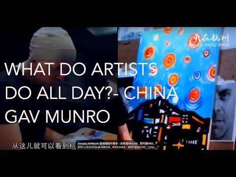 China Daily video article on Gav Munro