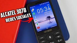 NUEVO Alcatel 3078 con NUEVO SISTEMA OPERATIVO | Tecnocat