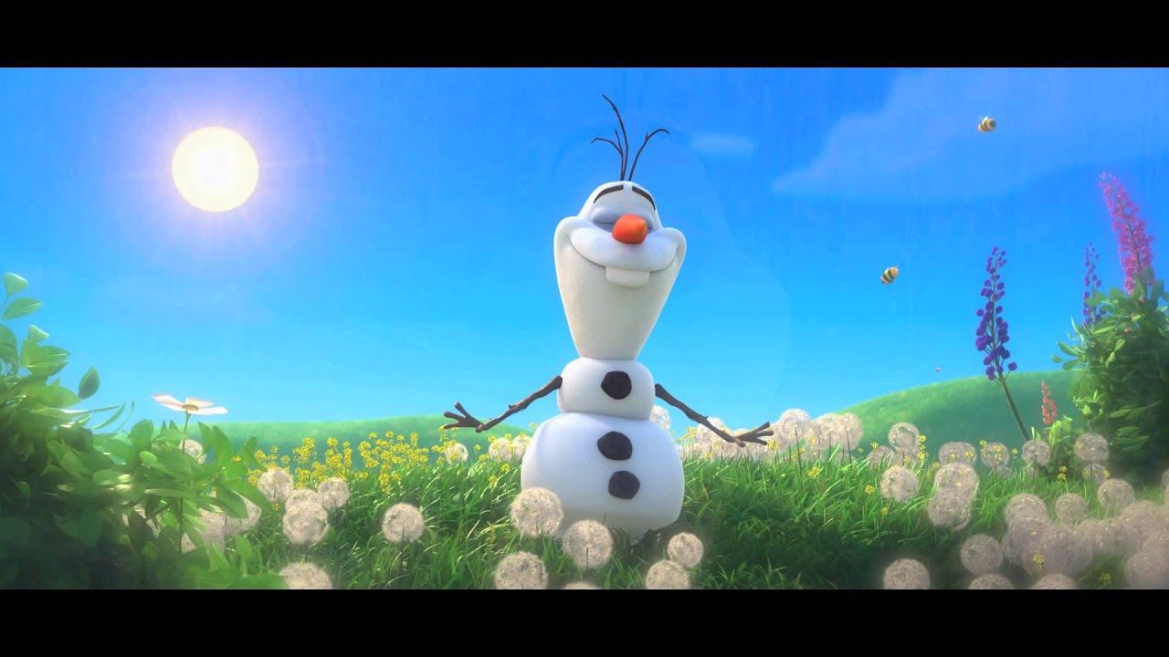 Disney's FROZEN MomStart Singing As Olaf In Summer Song 112013 ...