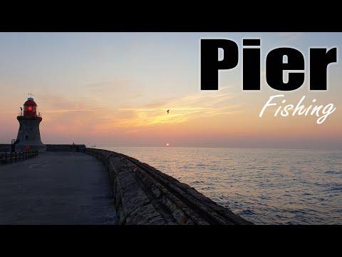 Pier Fishing - South Shields Pier.