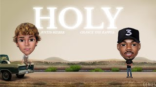 Download Lagu Justin Bieber Holy Ft Chance The Rapper Genies Version  MP3