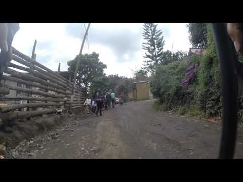 From the street to our house by bike - Arusha, Tanzania