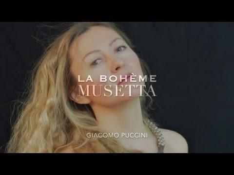"""Ekaterina Potego """" La Bohème"""" Musetta Giacomo Puccini"""