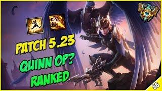 ✔ QUINN JUNGLE 5.23 OP? - Ranked Challenger Commentary | League of Legends