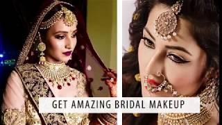 Get Amezing Bridel Makeup / Celebrity Makeup/ Celiberty Bride