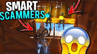 2 Smart Scammers Goes CRAZY After This NEW SCAM! (Scammer Obtient Scammed) À Fortnite Save The World