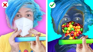 Trying CRAZY ways to SNEAK SNACKS into MOVIES! 11 Ways To Sneak FOOD & Funny Situations Crafty Panda