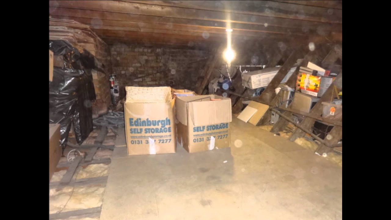 Loft Storage Edinburgh Fife Attic Conversions Loft Storage Youtube