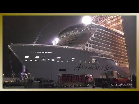 Float Out ANTHEM OF THE SEAS at Meyer Werft Shipyard