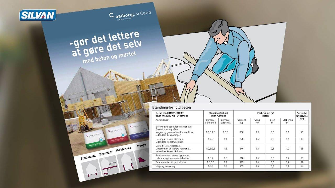 Pudslag blandingsforhold | Møbler til terrassen og haven