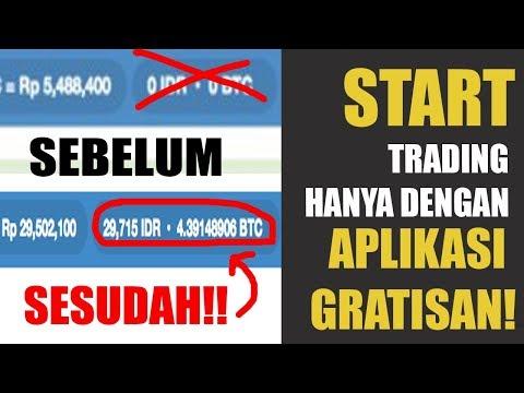 Trading Bitcoin GRATIS TANPA MODAL - Untuk Trader Pemula Cukup 2 Minggu sudah Profit!!