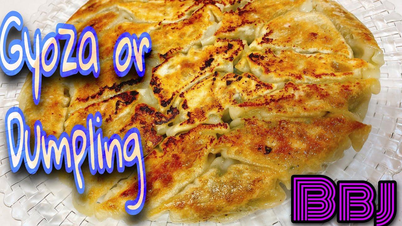 How To Make YAki Gyoza Or Dumpling (my idea)