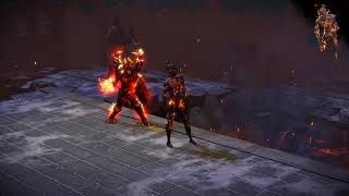 Path of Exile: Infernal Flame Golem