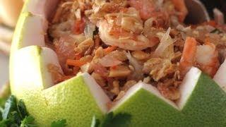 How To Make Goi Buoi (vietnamese Pomelo Fruit Salad/ Nom Buoi)