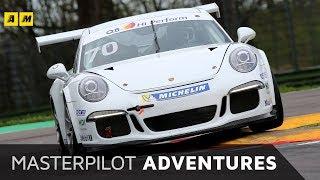 Porsche 911 Cup | la bella della Carrera Cup Italia contesa da 10 giornalisti | Masterpilot VLOG 4k