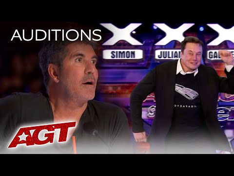 Elon Musk's Act at America's Got Talent 2021 Will Blow Your Mind