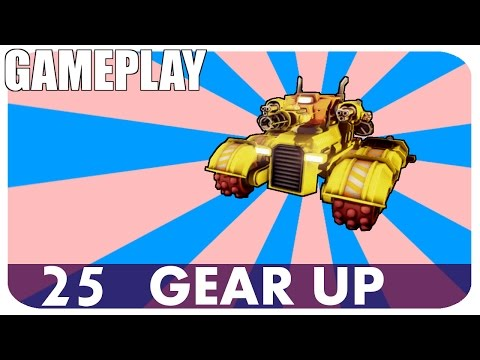 GEAR UP - Miner Turret, Hull and Wheels, Miniguns and Lazer Auto Cannon!