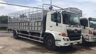 Xe tải Hino 8 tấn FG8JT7A thùng mui bạt Euro 4 2018| Liên hệ: 0965586699