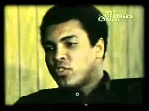 Muhammad Ali Talks About Rocky Marciano