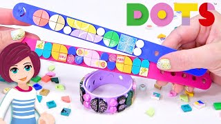 Make your own customisable wristbands! *NEW* Lego DOTS Series 2