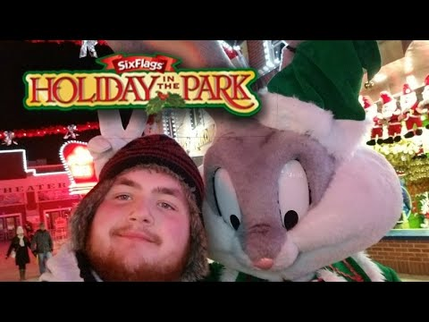 Six Flags New England 12/17/17 | Holiday in the Park - DEADEST I HAVE EVER SEEN!!