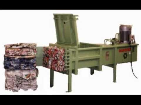 Compactadoras De Latas Y Envases ABECOM Modelos HLS